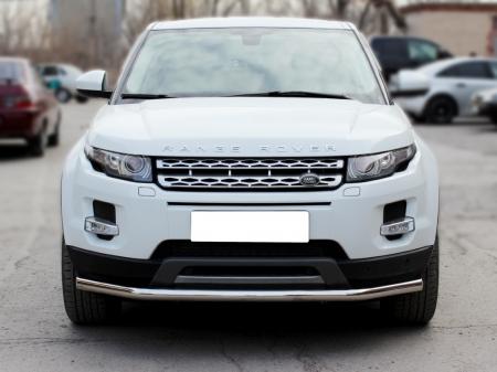 Range Rover Evoque (evolution) 2011-наст.вр.-Дуга передняя по низу бампера d-60 с подгибами